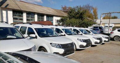 Крымские больницы получили 37 новых автомобилей